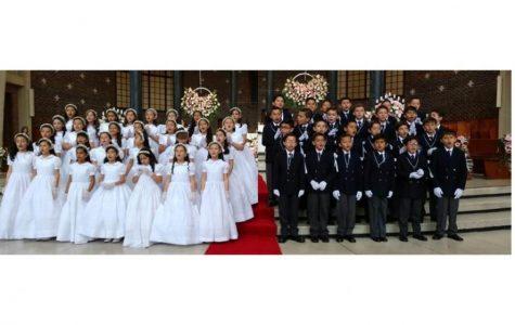 PRIMERAS COMUNIONES CAS:  LLENOS DE JESÚS Y DEL ESPÍRITU SANTO