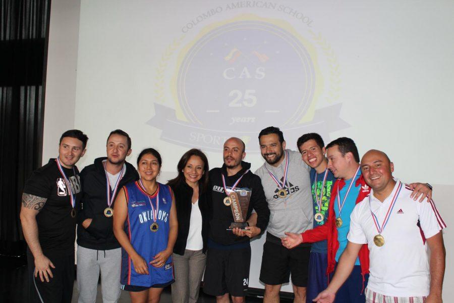El CAS unido por el deporte
