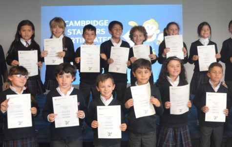 Cambridge Starters Certificate Delivery Ceremony