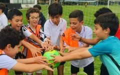 The kickoff of 1st Term Grade Level Tournament