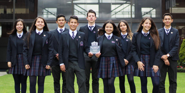 Embajadores de la excelencia: el CAS es reconocido como el Mejor Colegio en el GCBMUN